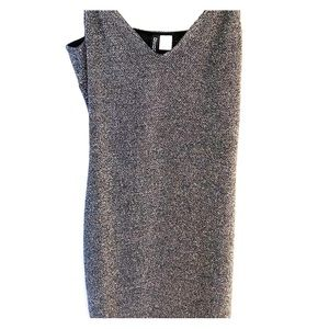 H&M Mini Dress. Glam shimmer. Size 10